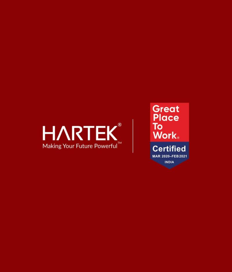 Hartek Group certified as a Great Place to Work