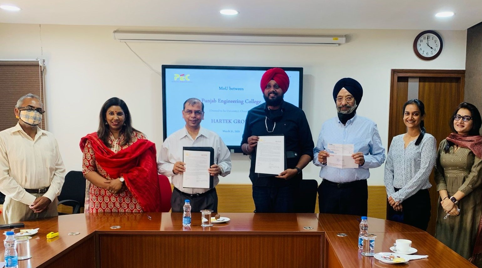 Hartek Group launches Scholarship Programme at Punjab Engineering College